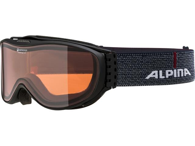 Alpina Challenge 2.0 Quattroflex Hicon S2 Goggle black matt